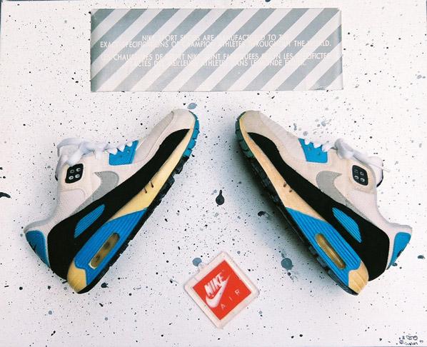 Sneaker Artwork by Ciro