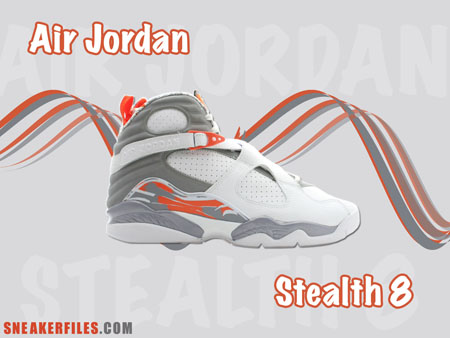 Sneakerfiles x Air Jordan Stealth 8 Wallpaper