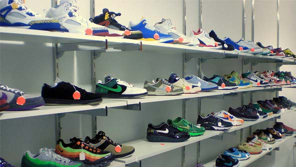 Wheres the new sneaker spot at?