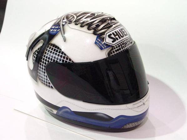Team Jordan Sneaker Inspired Helmets