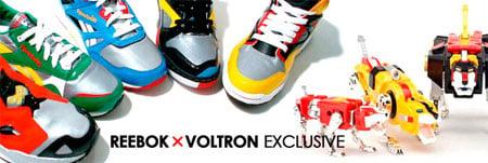 Reebok x Voltron Pack