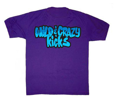 Wild and Crazy Kicks T-Shirt for Aquas