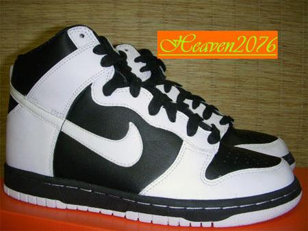 more photos 1ab9c 3d12d Nike Womens Sample Dunk High White Black