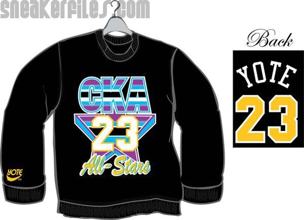 Yote City Sneaker Inspired Clothing Line