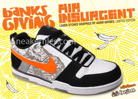 Nike 6.0 Limited Edition Banksgiving Air Insurgent