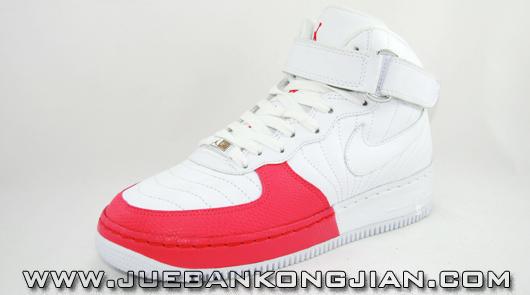 Air Jordan Force 12 Fusion White/Pink Women