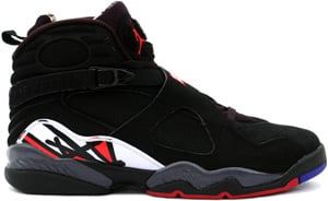 Air Jordan Retro 8 (VIII) Black/Varsity Red-White Playoffs