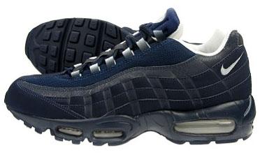 JD Sports Exclusive Nike Air Max 95 Obsidian/Silver