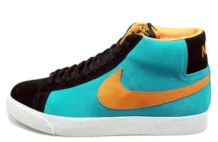Nike SB Blazer High - Chlorine Blue/Bright Ceramic ...