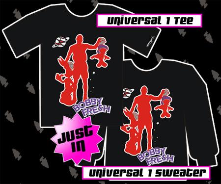Bobby Fresh Universal Jordan 8 Playoff T-Shirt