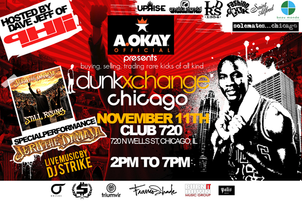 DunkXchange Chicago November 11th
