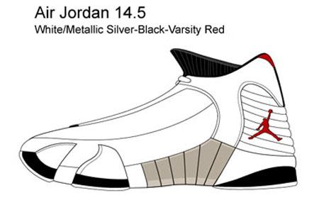 Air Jordan 14.5 Samples