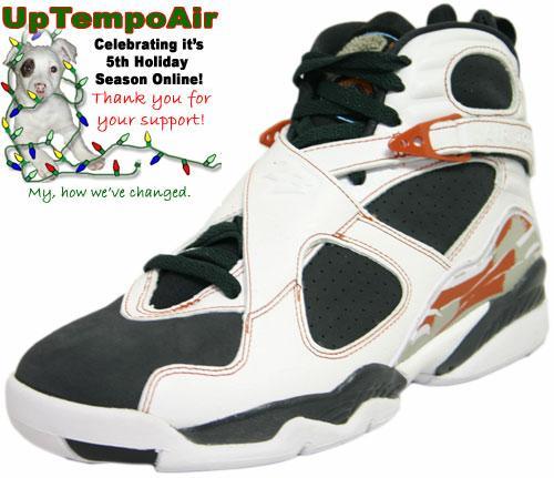 Release Update - Air Jordan Retro 8 LS White/Anthracite Dark Orange