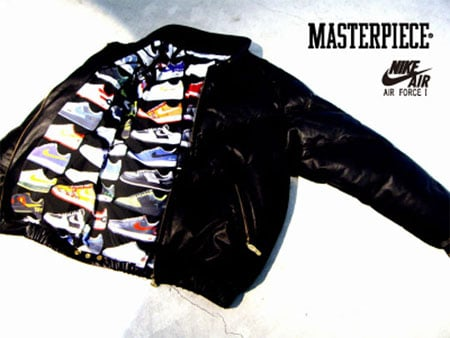 Nike x Mastermind Air Force One Leather Jacket