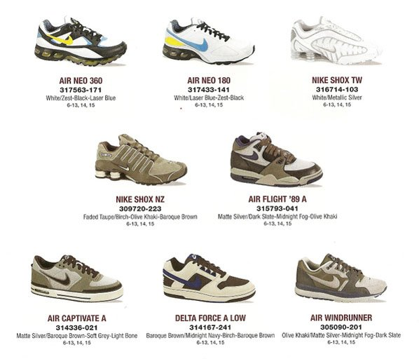 Nike 2008 Q1 Catalog Preview