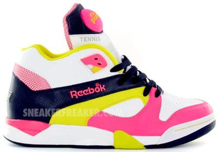 Reebok Court Victory Pump Neon