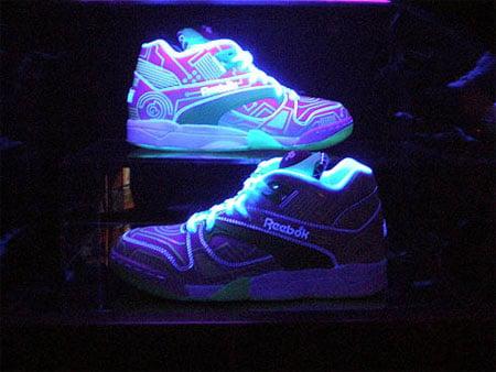 Reebok Glow in the Dark Court Victory Pump