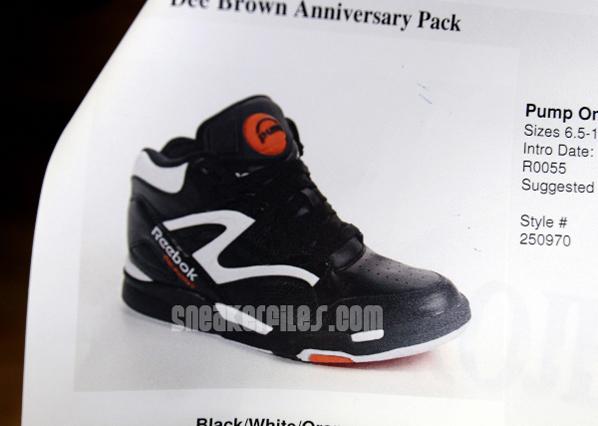 Reebok Omni Pump Lite Dee Brown Anniversary Pack