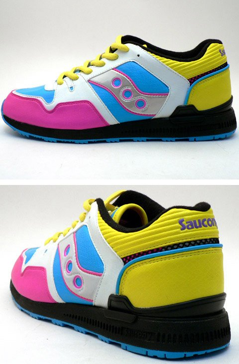 Saucony Courageous x Double Hard-DJ Hazime