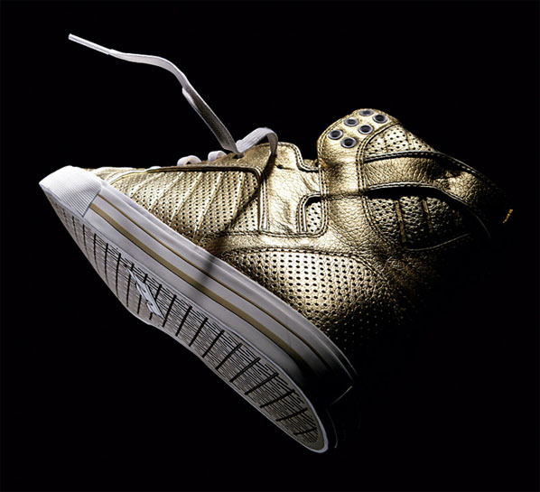 Limited Edition Supra Muska Skytop Gold