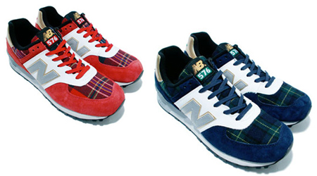 New Balance CM576 Tartan Check Pack