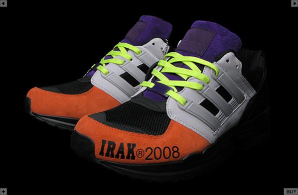 Adidas RMX Equipment Sport Runner x Irak NY Available