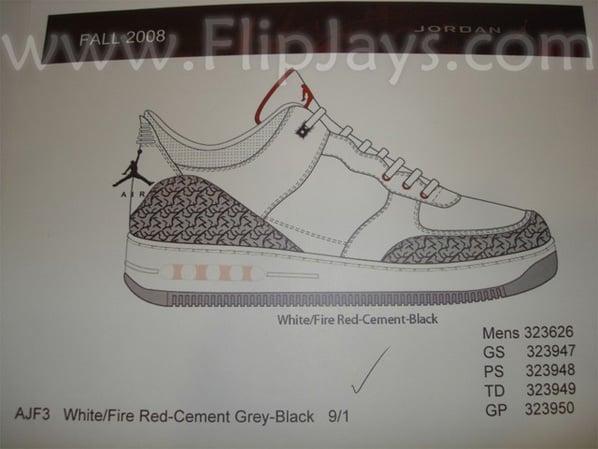 Air Jordan 3 x AF1 Fusion Debut