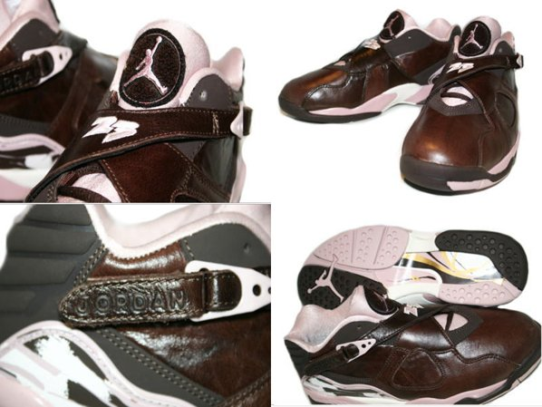 Air Jordan 8 Retro Cinder Womens Low Detailed Look
