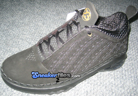 16602648f8e6b4 Air Jordan XX3 (23) Low Black Metallic Gold Debut