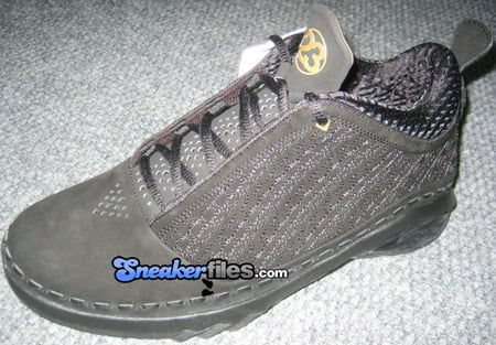 Air Jordan XX3 (23) Low Black/Metallic Gold Debut
