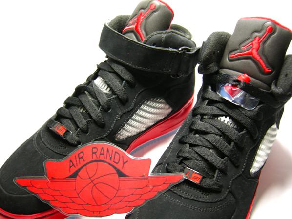Air Jordan 5 X Af1 Fusion Black Red Sneakerfiles