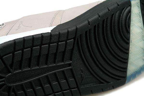 Air Jordan Nu Retro 1 Light Charcoal/Black-Ice Blue Womens