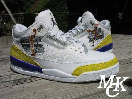 Mache x Custom Kobe Bryant Air Jordan III