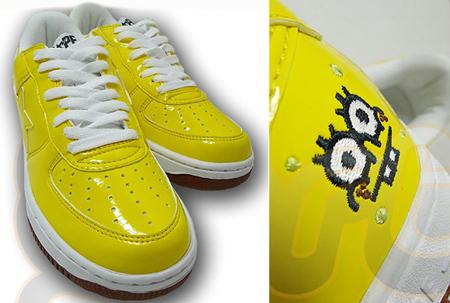 Bape Sta x Sponge Bob Square Pants