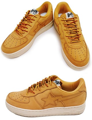 Bapesta Premium Leather Mid and Low