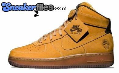 Bobbito Mac Cheese Nike Air Force 1 High
