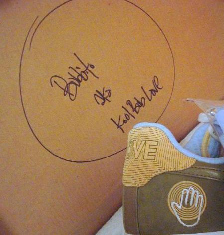 Bobbito Autographed Air Force 1 Box