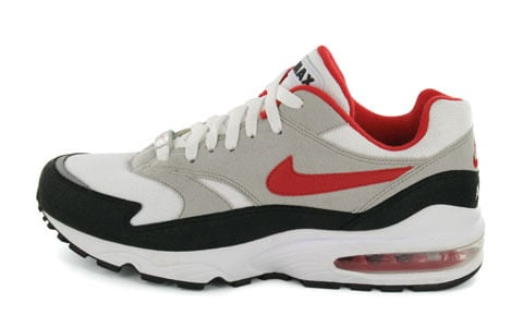 Nike Air Burst - Red/Grey Euro Exclusive