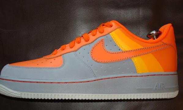 Nike Charles Barkley Air Force 1 Phoenix Suns