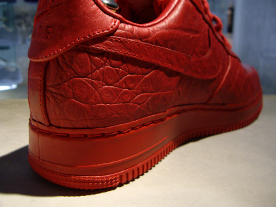 Nike Air Force 1 Red Croc
