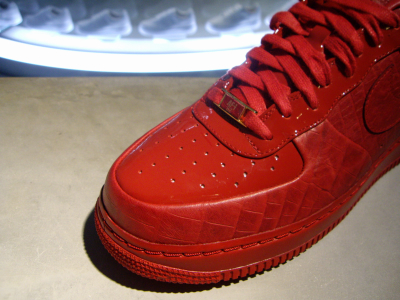 all red air force 1s