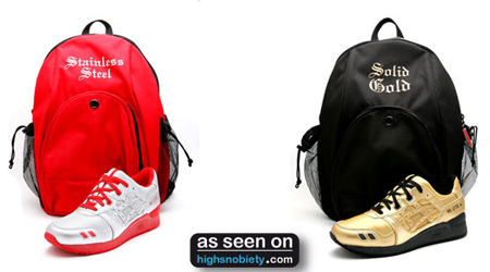 David Z x Asics Gel Lyte Bag and Release