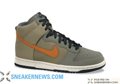 Nike Dunk High Premium Summer and Fall 2008 Preview
