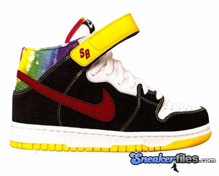 Nike SB Dunk Mid - Tie Dye