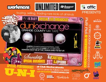 Dunkxchange Fullerton CA. December 8th 2007