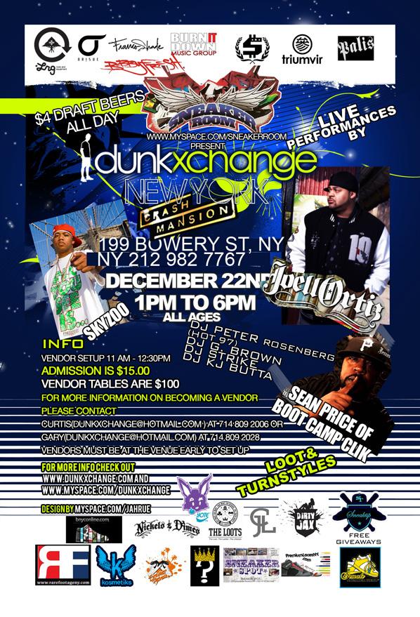 Dunkxchange New York December 22nd 2007