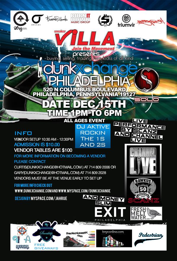 Dunkxchange Philadelphia December 15th 2007