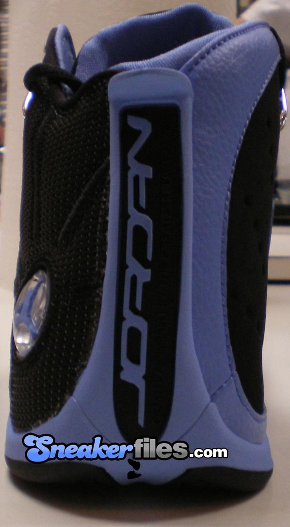 Air Jordan 12.5 Black/University Blue Detailed Look