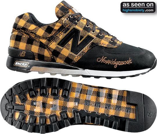 New Balance Factory Plaid Collection