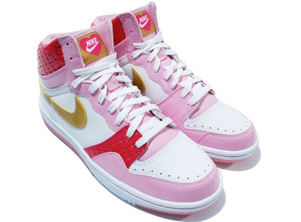 Nike Court Force High 2008 Valentines Day Womens